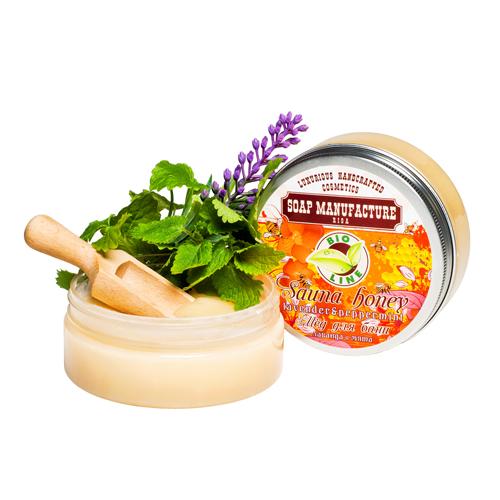 MED DO SAUNY s s vùní pepermintu  - KOSMETIKA