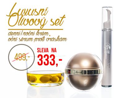 OLIVOVÝ SET - sada - KOSMETIKA