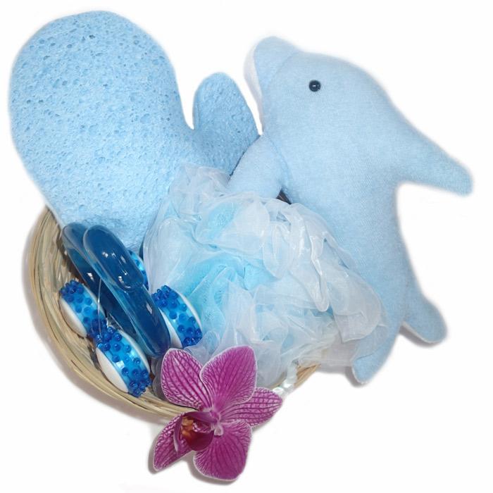 TOALETNÍ SET - motiv delfína - Masážní výrobky