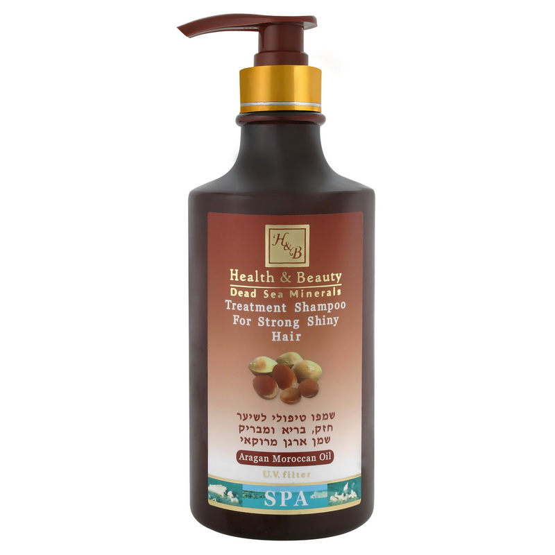 ŠAMPON s arganovým olejem 780 ml - Dead Sea
