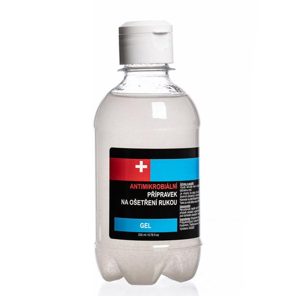 Antimikrobiální gel 250 ml - DEZINFEKCE,MASKY
