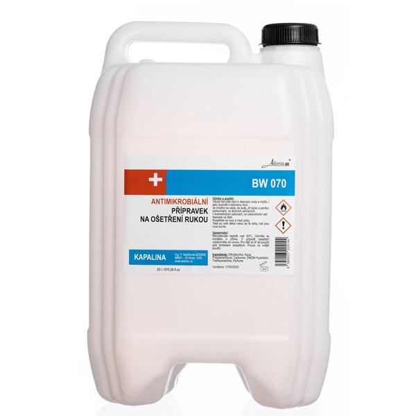 Antimikrobiální kapalina - DEZINFEKCE
