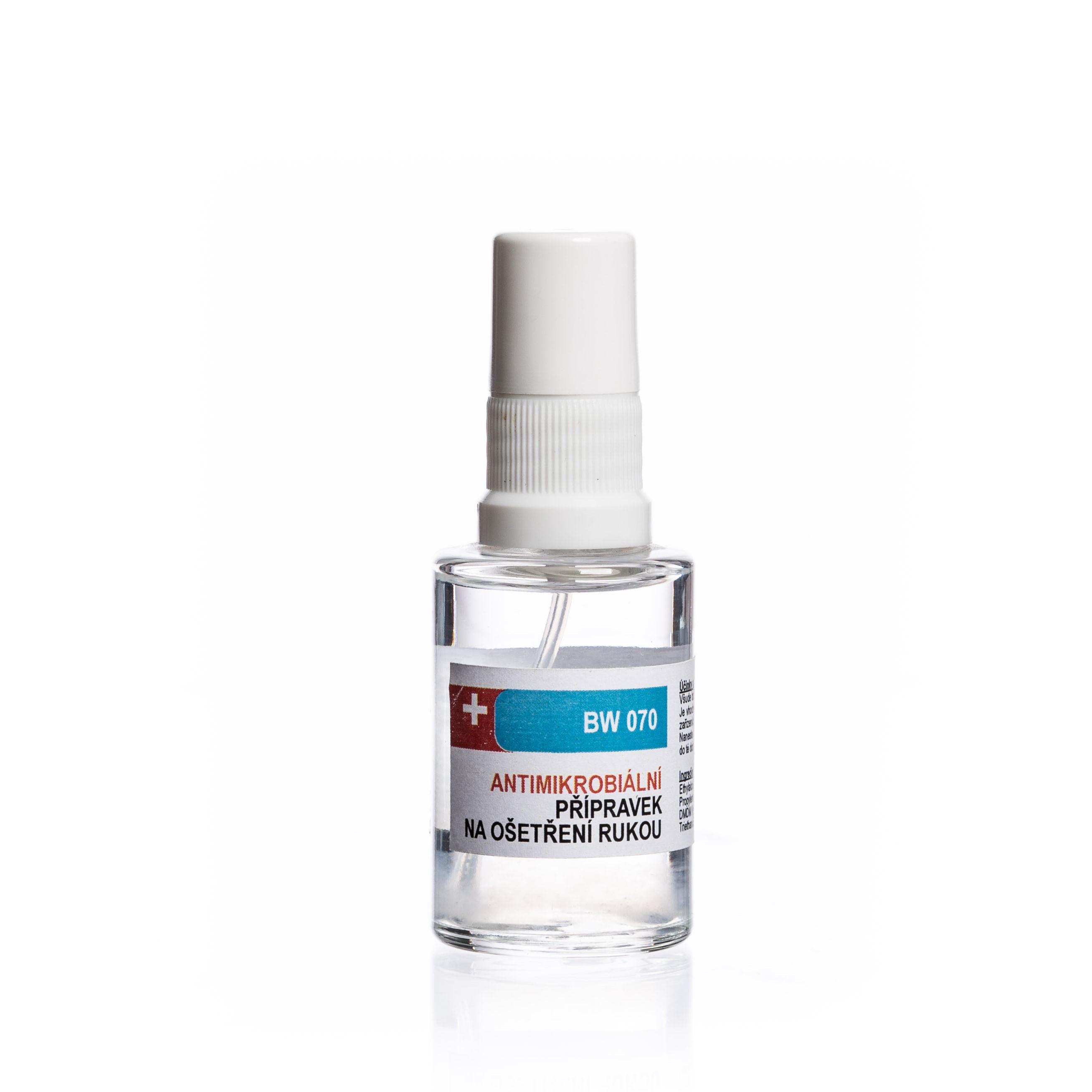 Antimikrobiální sprej 30 ml - DEZINFEKCE,MASKY