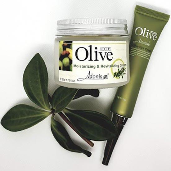Sada OLIVE krémù  - Olive