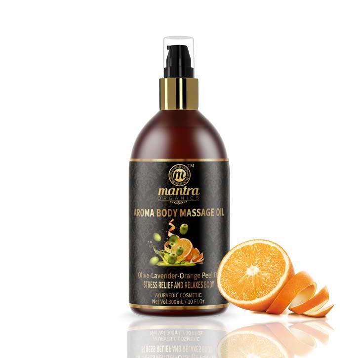 Masážní olej s pomeranèovou kùrou - AJURVÉDA - INDIE