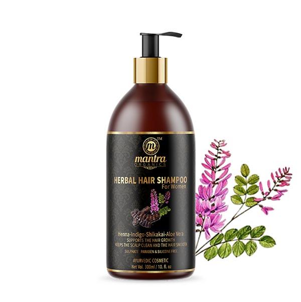 Šampon s hennou   - AJURVÉDA - INDIE
