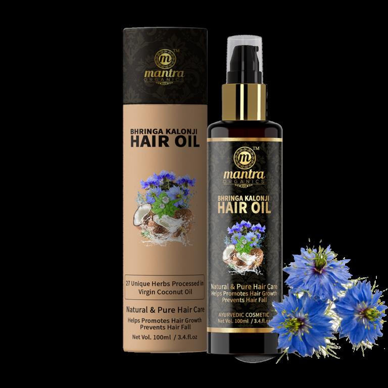 Ájurvédský vlasový olej s 27 bylinkami - AJURVÉDA - INDIE