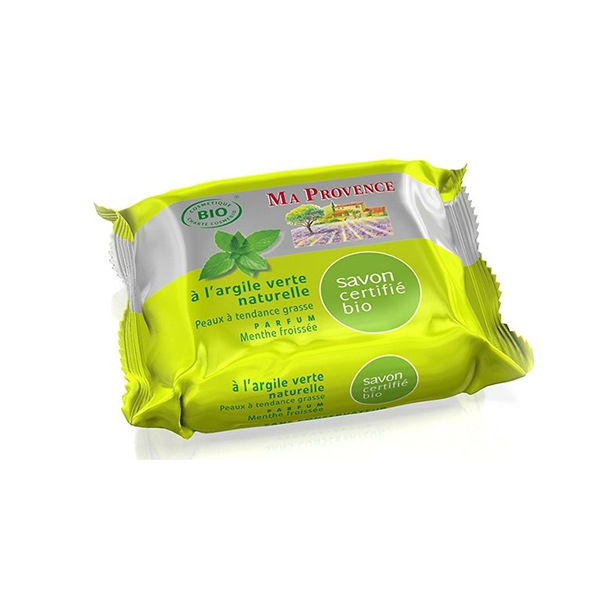 BIO MÝDLO 75 g - máta - Mýdla tuhá a konfety