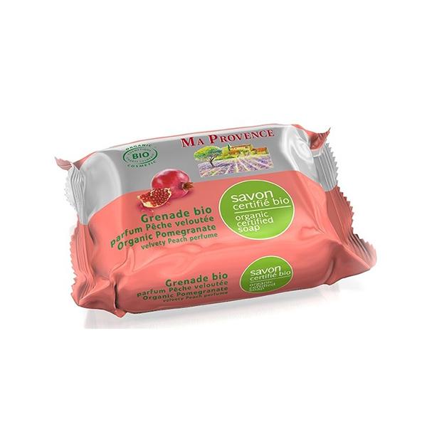 BIO MÝDLO 75 g - granát. jablko - Mýdla tuhá a konfety