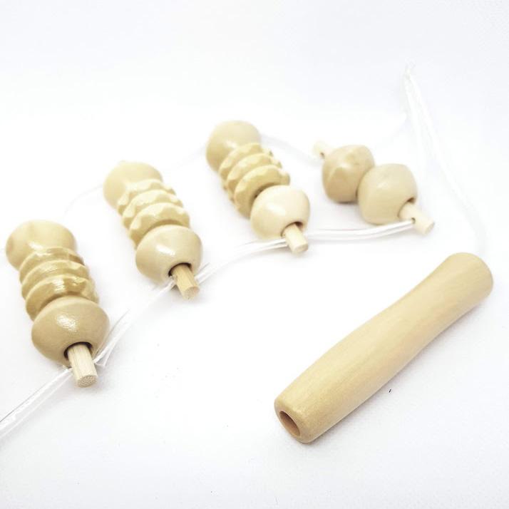 Masážní pás celodøevìný  - Masážní výrobky