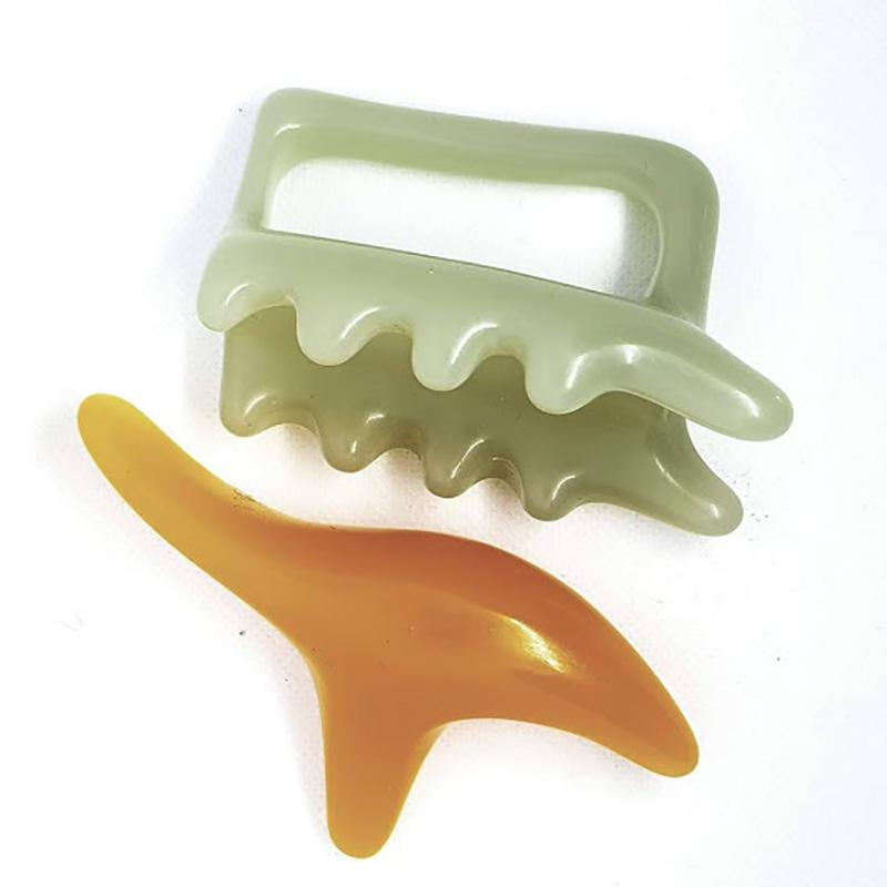 Masážní set GUA SHA 2 ks - Masážní výrobky