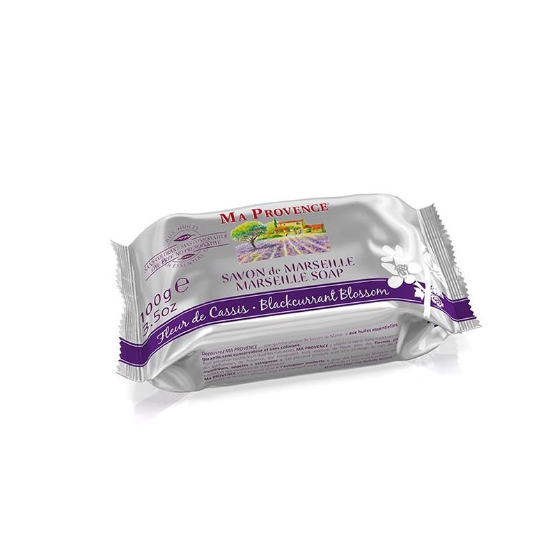 MŠDLO MARSEILLE èerný rybíz 100 g - Mýdla tuhá a konfety