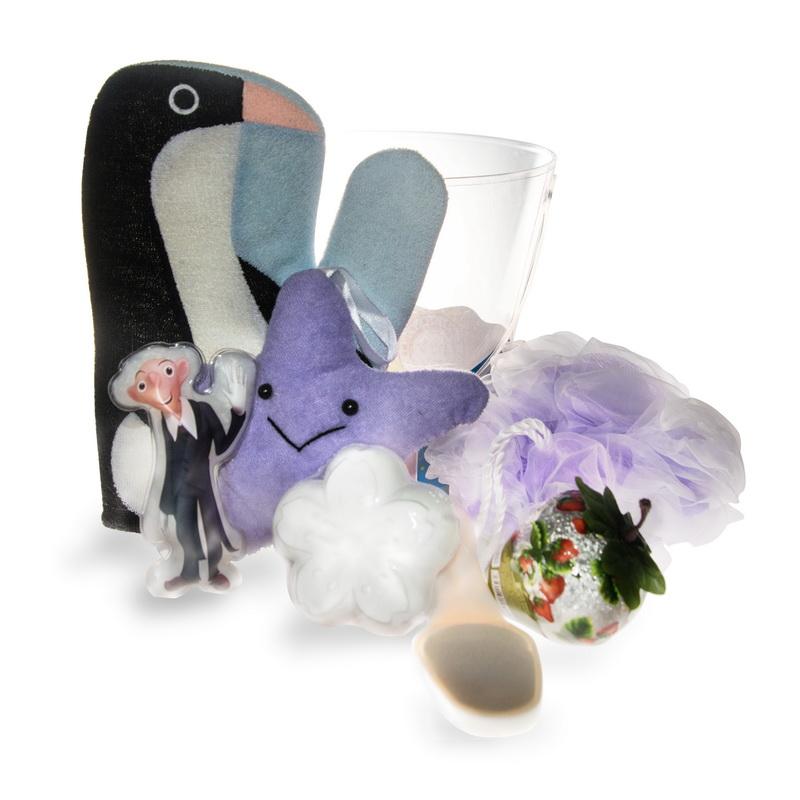Set v kbelíèku pro dìti - Houby,žínky,rukavice - zvìtšit obrázek