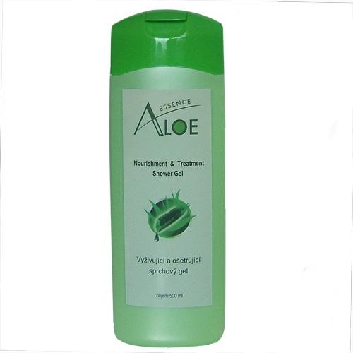 Sprchový gel s aloe vera - poškozená etiketa11 - SE SNÍŽENOU CENOU  - zvìtšit obrázek