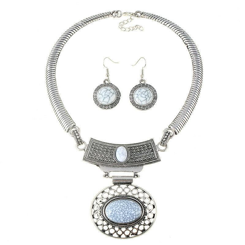 Náhrdelník oválné oko - Náhrdelníky a šperky - zvìtšit obrázek