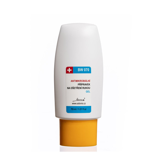 Antimikrobiální gel 70 ml - DEZINFEKCE,MASKY - zvìtšit obrázek