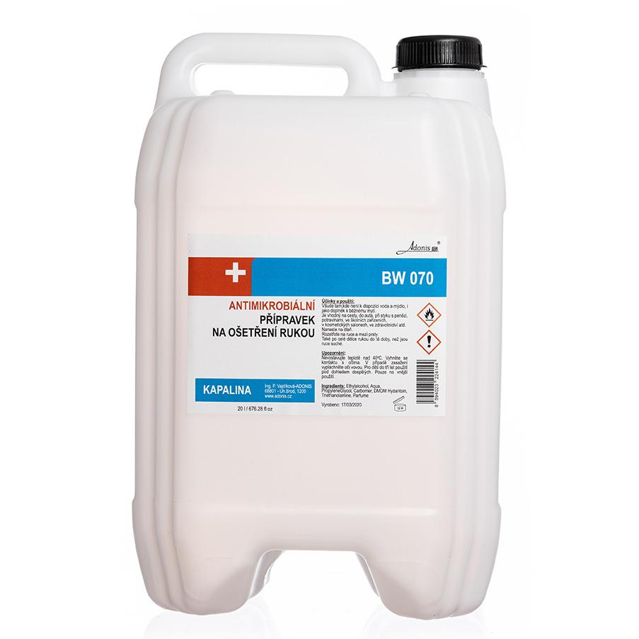 Antimikrobiální kapalina 20 l - DEZINFEKCE,MASKY - zvìtšit obrázek