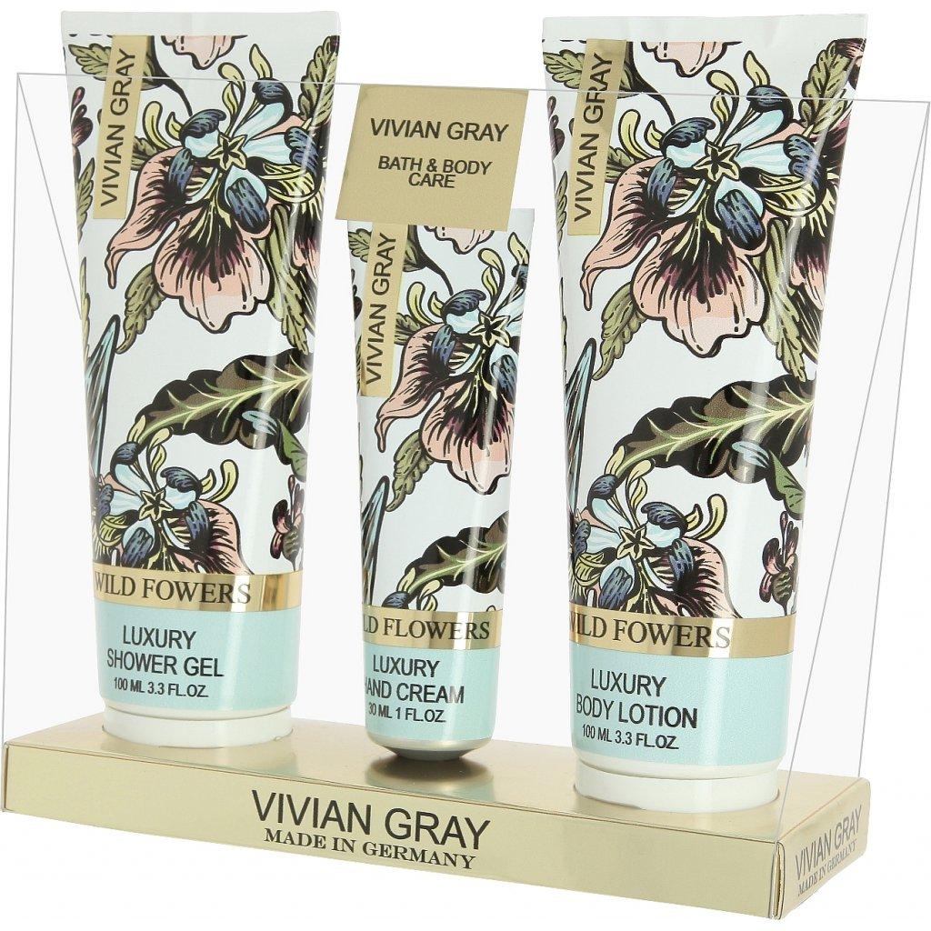 Set WILD FLOWERS - Vivian Gray, Provence - zvìtšit obrázek