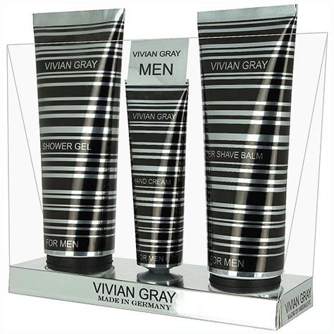 Set Silver Wind FOR MEN  - Vivian Gray, Provence - zvìtšit obrázek