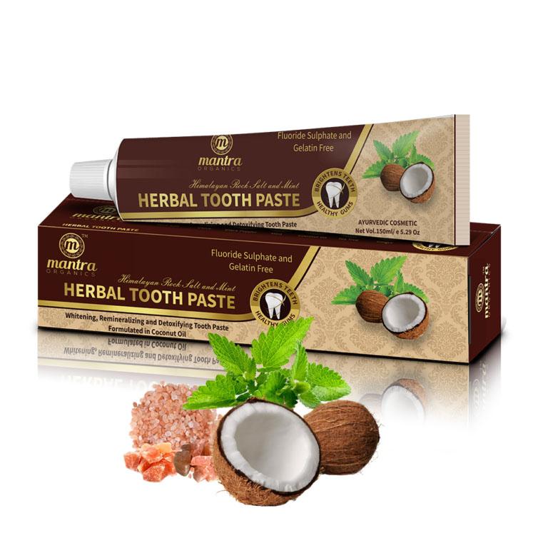 Zubní pasta s bylinkami a moøskou solí  - AJURVÉDA - INDIE  - zvìtšit obrázek