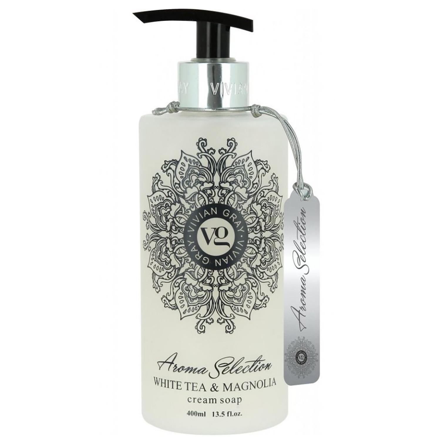 Tekuté mýdlo White Tea a Magnolia - Vivian Gray, Provence - zvìtšit obrázek