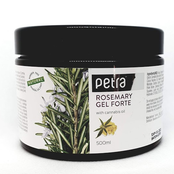 Rozmarýnový gel s kostihojem a konopím FORTE 500 g - Výživa a tìlové krémy - zvìtšit obrázek